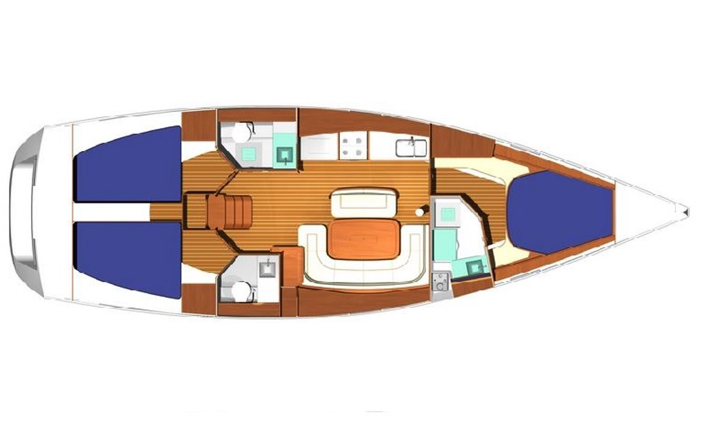 42' Dufour Sailing Yacht Charter in Rogoznica.