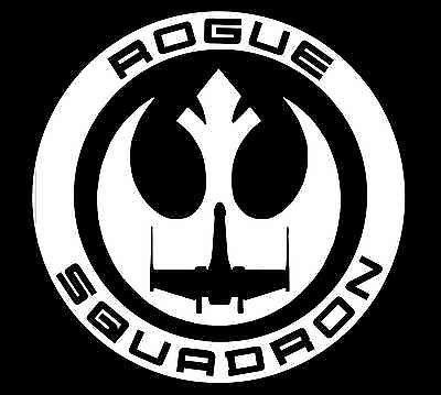 Star Wars Rogue Squadron Decal Vinyl Sticker.