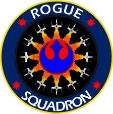 Rogue Squadron emblem, change the color scheme.