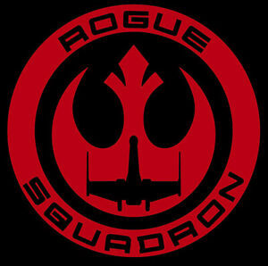 Details about Star Wars Rogue Squadron Decal.