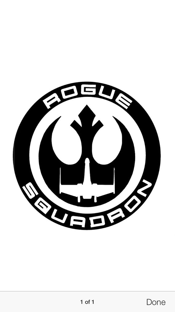 Rogue one clipart.