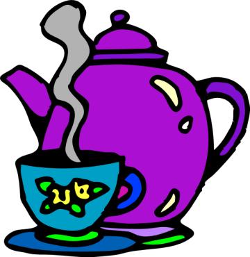 Teapot Clip Art.