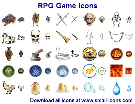 Role playing game clipart.