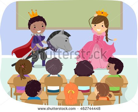 Role Play Clipart.