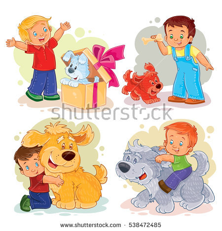 """""""dog Box Cartoons"""" Stock Photos, Royalty."""
