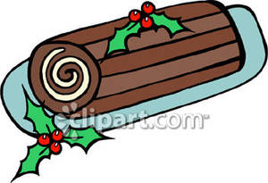 Free christmas cake clipart.
