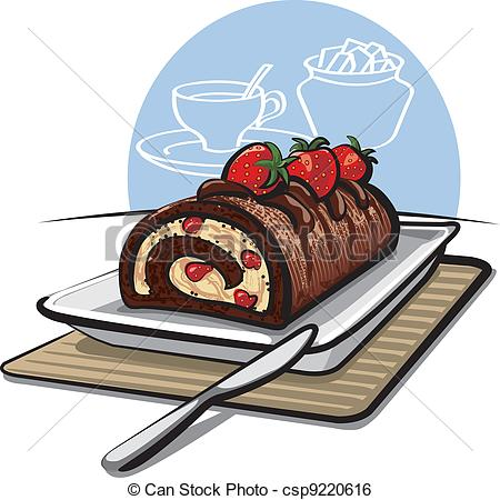 Roll cake Illustrations and Stock Art. 2,180 Roll cake.