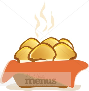 Bread Rolls Clipart.