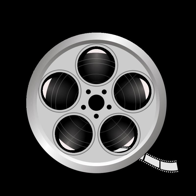 Movie Roll Clip Art.