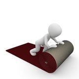 Carpet Red Roll Stock Illustrations.