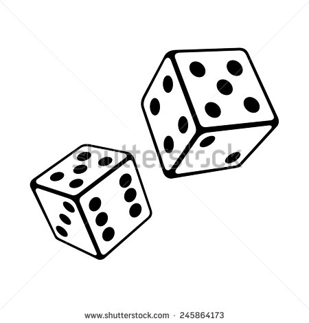 Dice Roll Stock Vectors, Images & Vector Art.