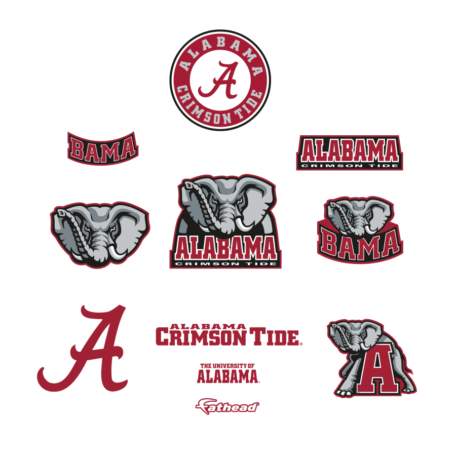 Alabama Crimson Tide: Logo Assortment.