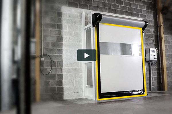 DYNACO high performance doors for industry and logistics.