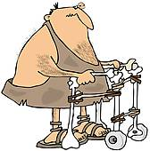 Gallery For > Rollator Clipart.