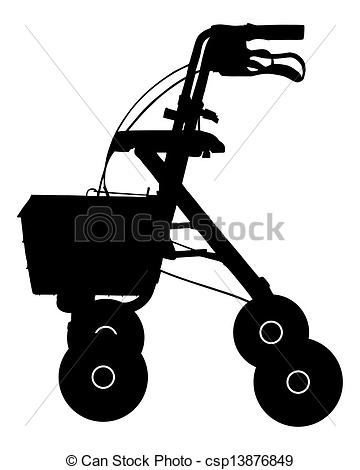 Rollator Illustrations and Stock Art. 45 Rollator illustration and.