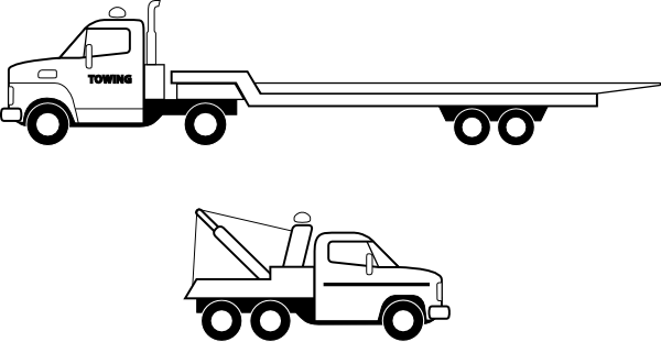 Flatbed Truck Clip Art at Clker.com.