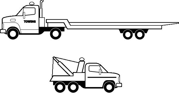 Flatbed Truck Clip Art at Clker.com.