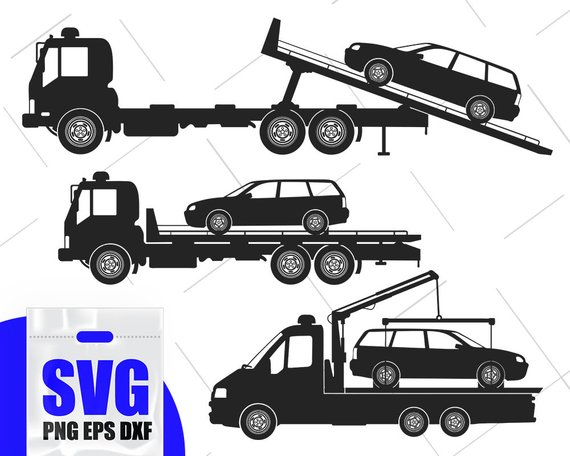 tow truck svg, Tow Truck SVG Bundle, Tow Truck Clipart, Tow.