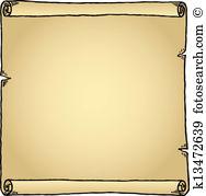 Pergament rolle Clip Art EPS Bilder. 1.385 pergament rolle Clip.