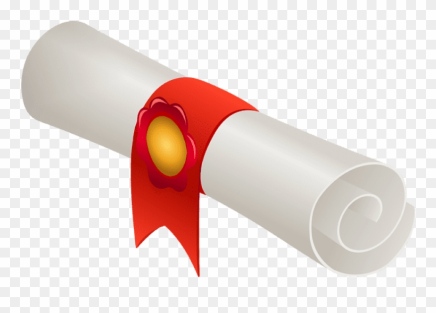 Download Rolled Diploma Clipart Png Photo.