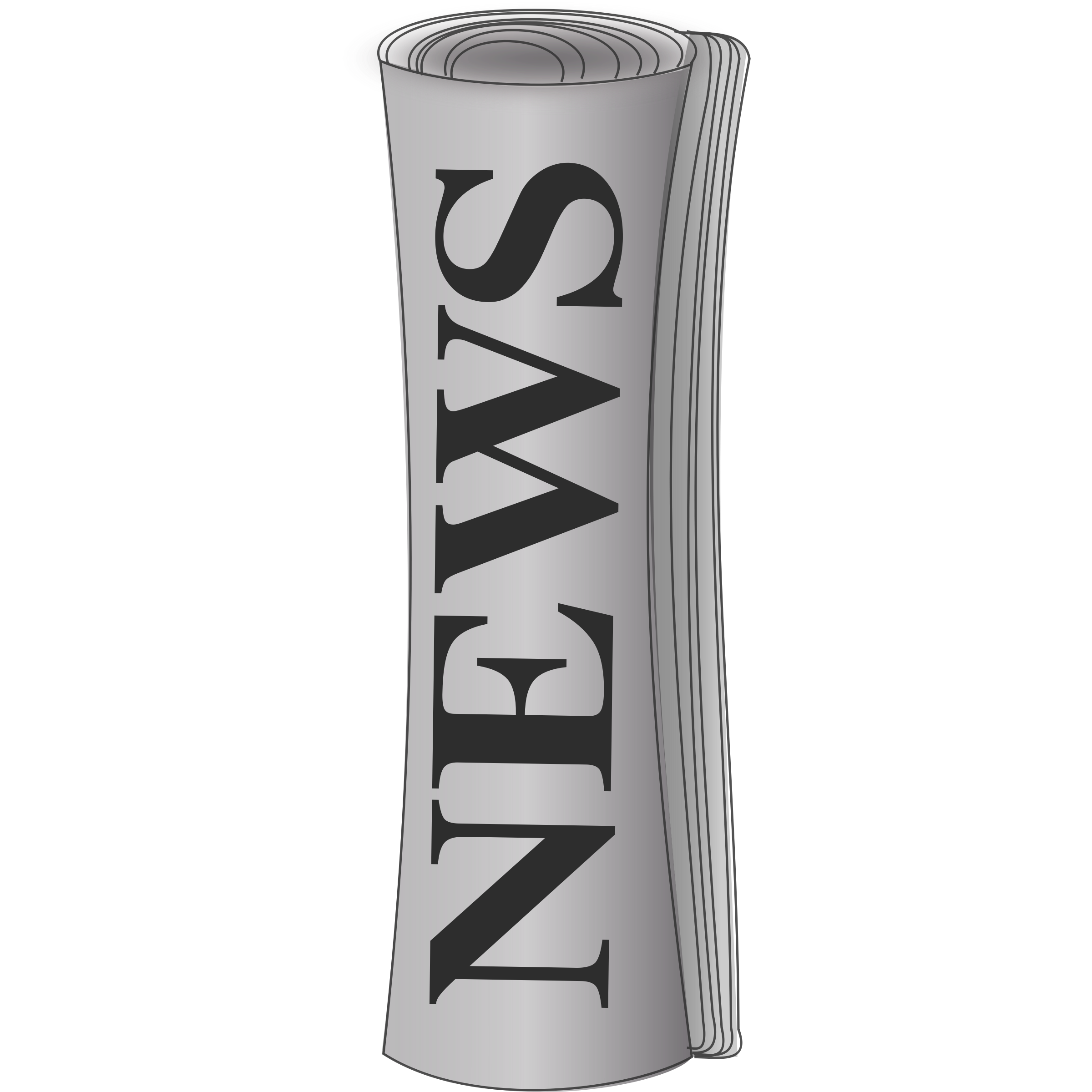 Free Rolled Newspaper Cliparts, Download Free Clip Art, Free.