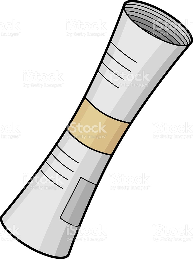 Rolled Newspaper Clipart.