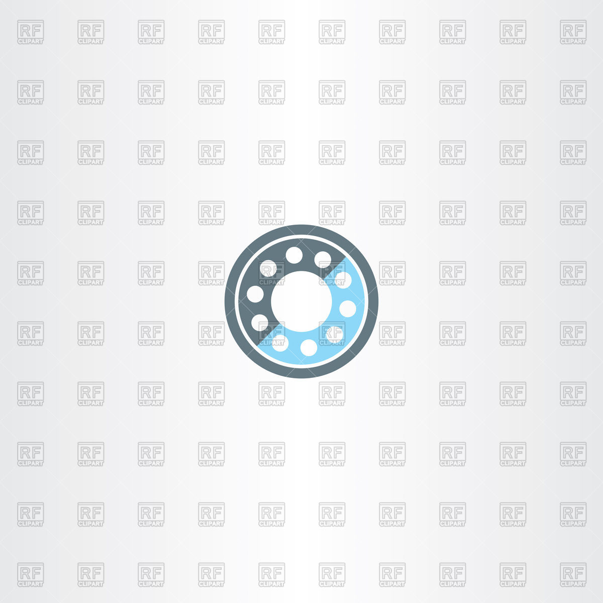Roller bearing icon Vector Image #124704.