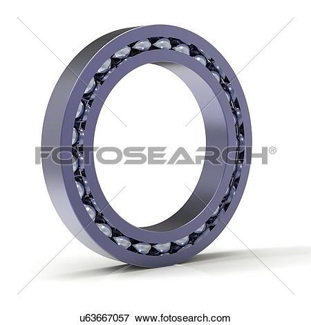 Stock Illustration of Roller bearing, artwork u63667057.