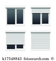 Roller blinds Clip Art and Illustration. 121 roller blinds clipart.
