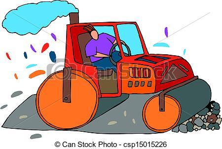 Road roller Clipart Vector Graphics. 973 Road roller EPS clip art.