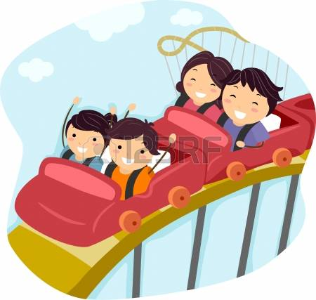 1,635 Rollercoaster Cliparts, Stock Vector And Royalty Free.