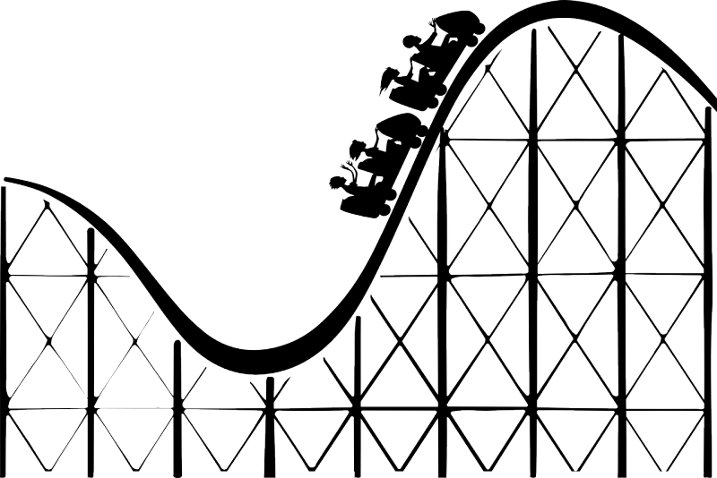 Cartoon roller coaster clipart images gallery for free.
