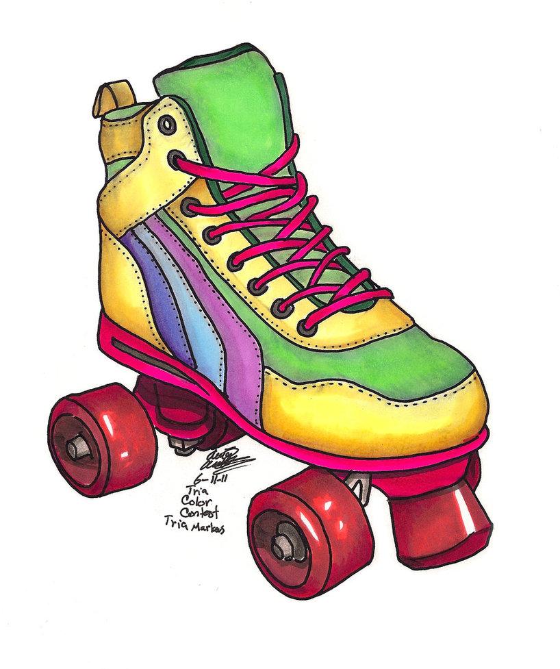 80 Roller Skate Clipart.