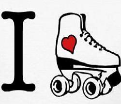Free Roller Skate Clipart.