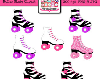 Roller skate clipart.
