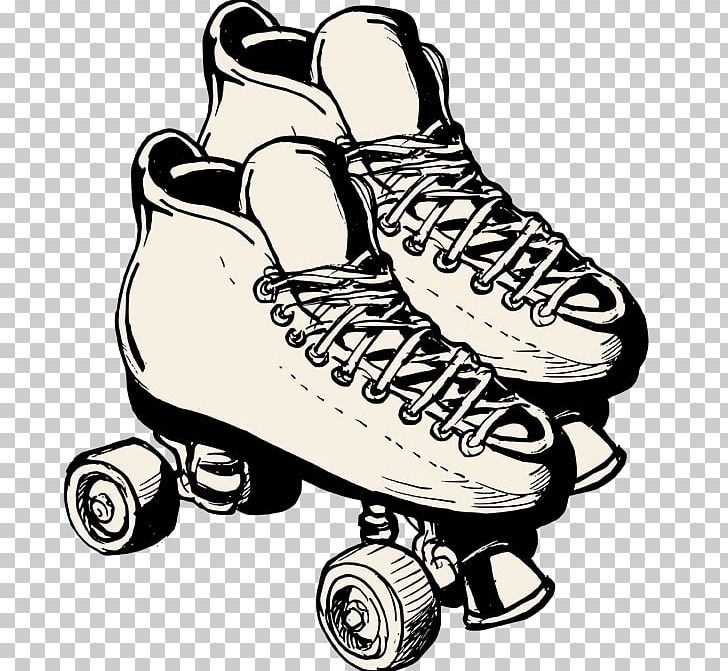Roller Skating Roller Skates Roller Derby Ice Skating PNG.