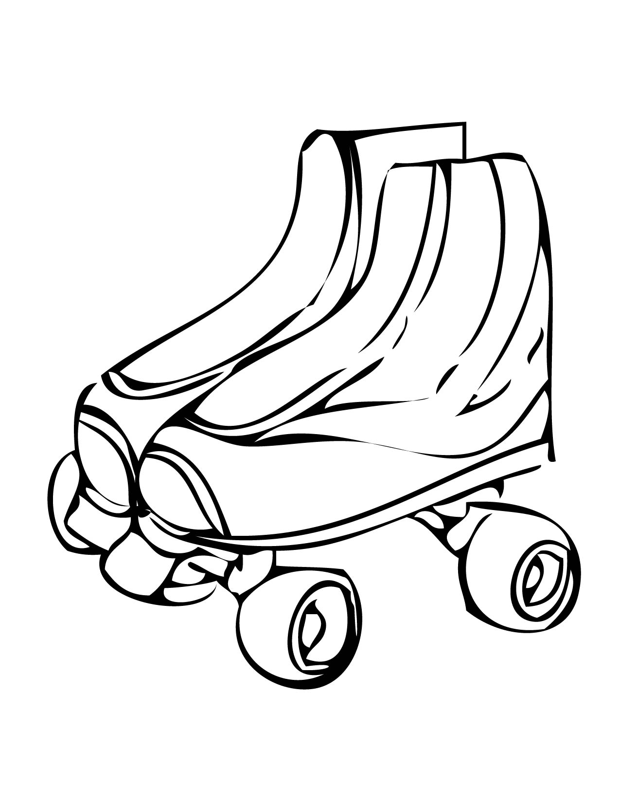 Free Rollerskate Cliparts, Download Free Clip Art, Free Clip.