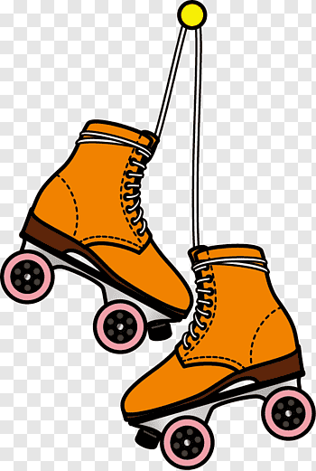 Roller Skates cutout PNG & clipart images.
