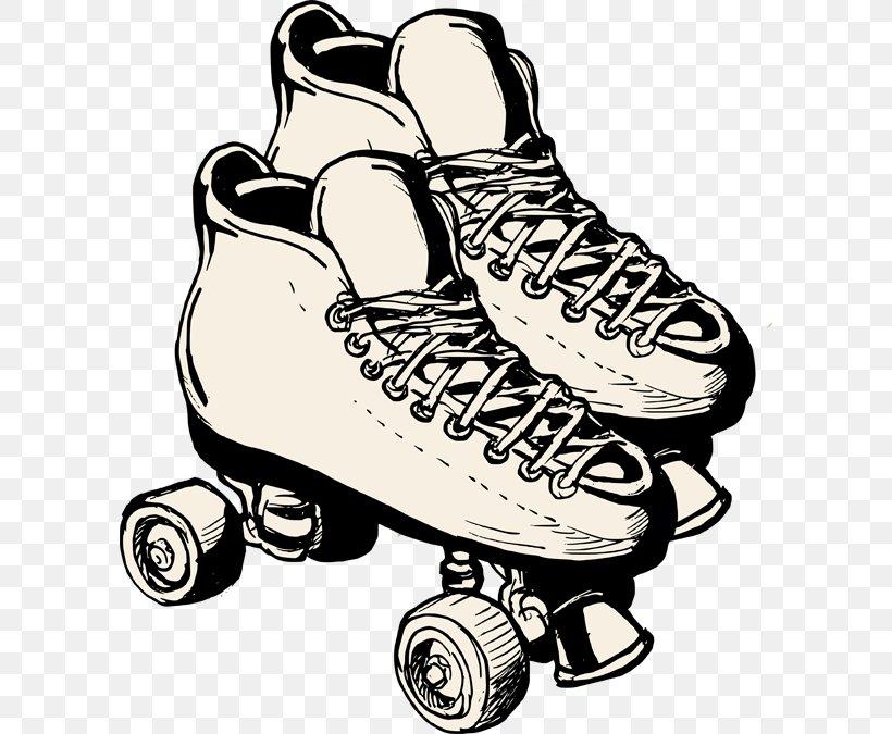 Roller Skating Roller Skates Roller Derby Ice Skating Clip.