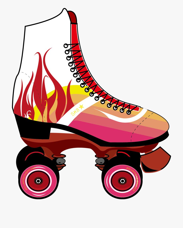 Roller Skates Roller Skating Skateboard Clip Art.