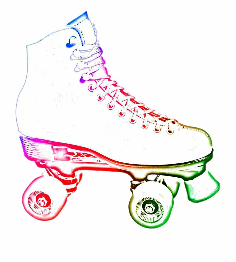 neon Roller Skate #fun #childhood.