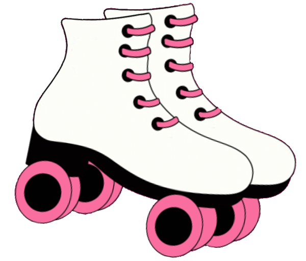 Pin Printable Roller Skate Stencil Welcome Skates Cake On.