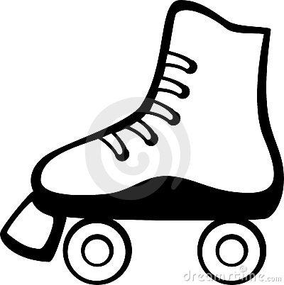 Roller skates clipart ...