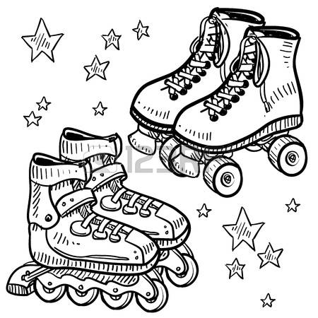 4,713 Roller Skating Cliparts, Stock Vector And Royalty Free.