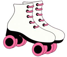 Clip Art Roller Skates.