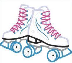 Download Roller Skate Free Clipart.