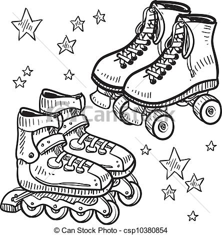 Rollerblade Illustrations and Stock Art. 250 Rollerblade.