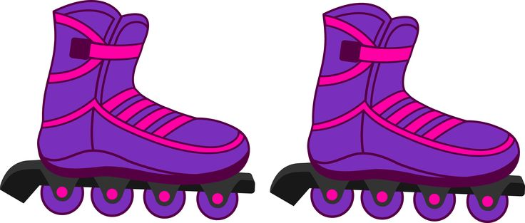 Image result for simple inline skates clipart.