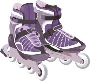 Rollers Clipart.