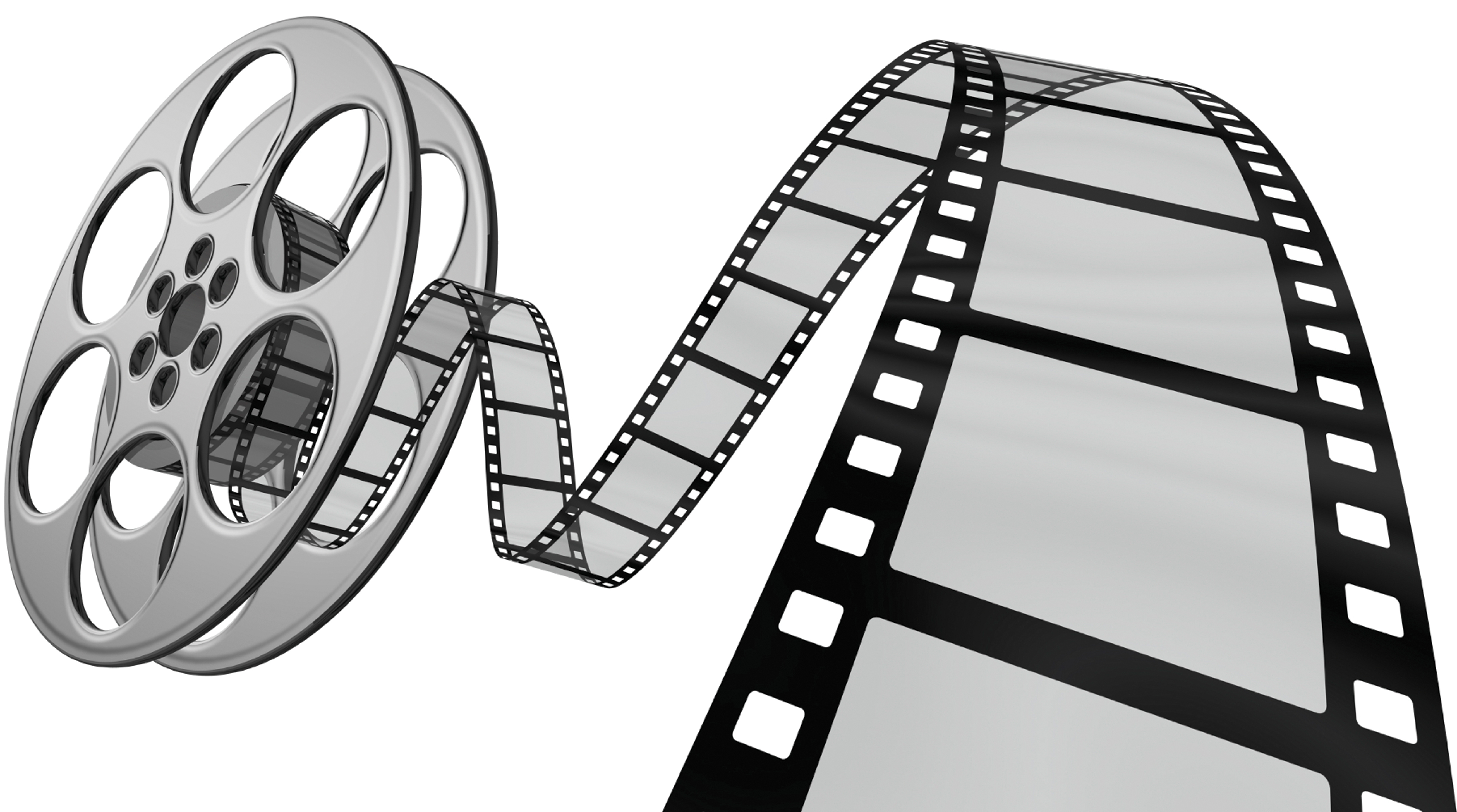 Movie camera film roll clip art clipart.